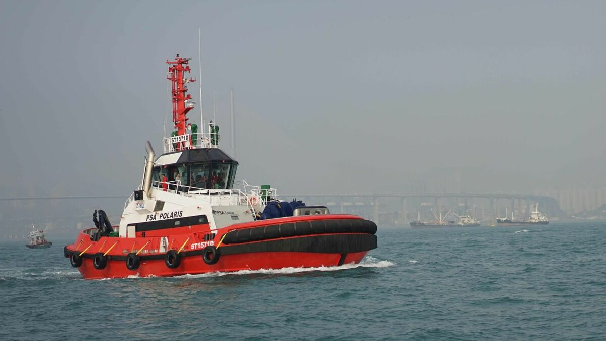Singapore becomes epicentre for smart tug technology