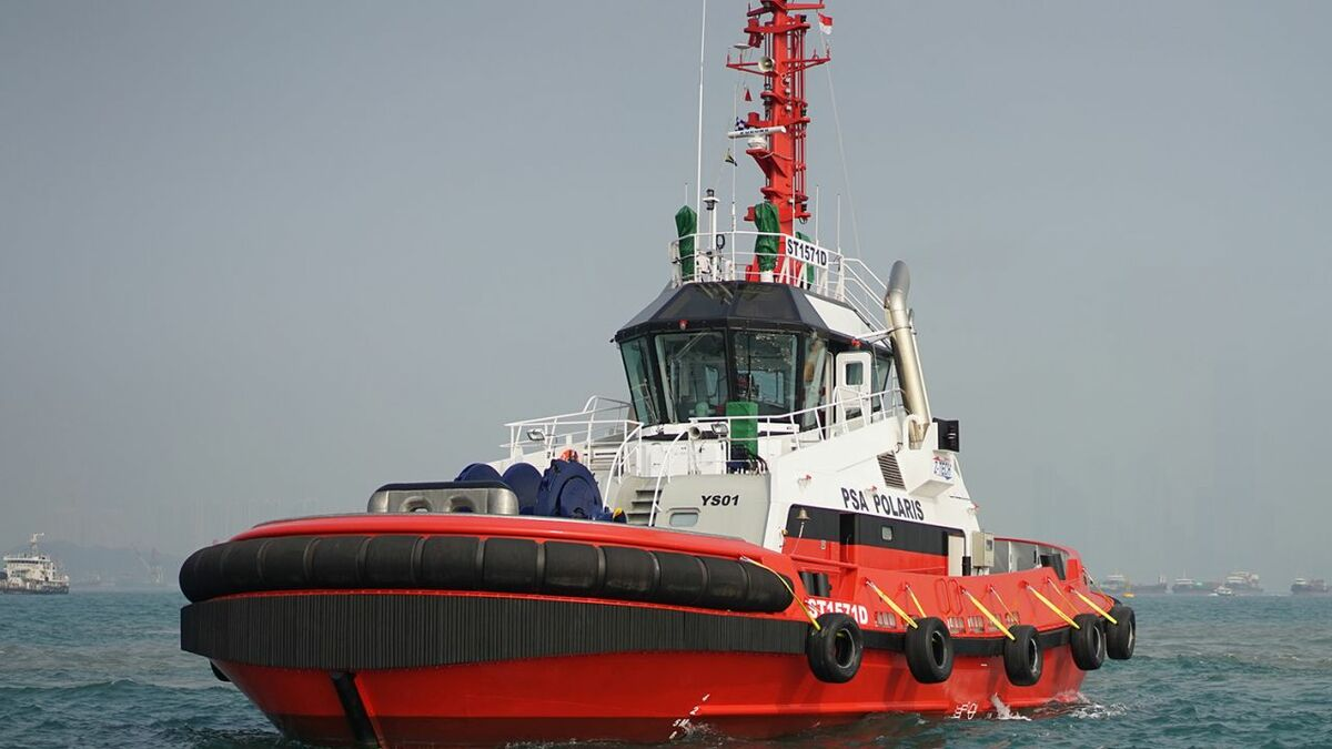 Increasing numbers of tugs carry the UMS notation