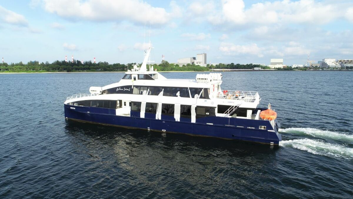 Penguin built Flex Ferry X as mid-sized passenger ferries as being underserved by builders