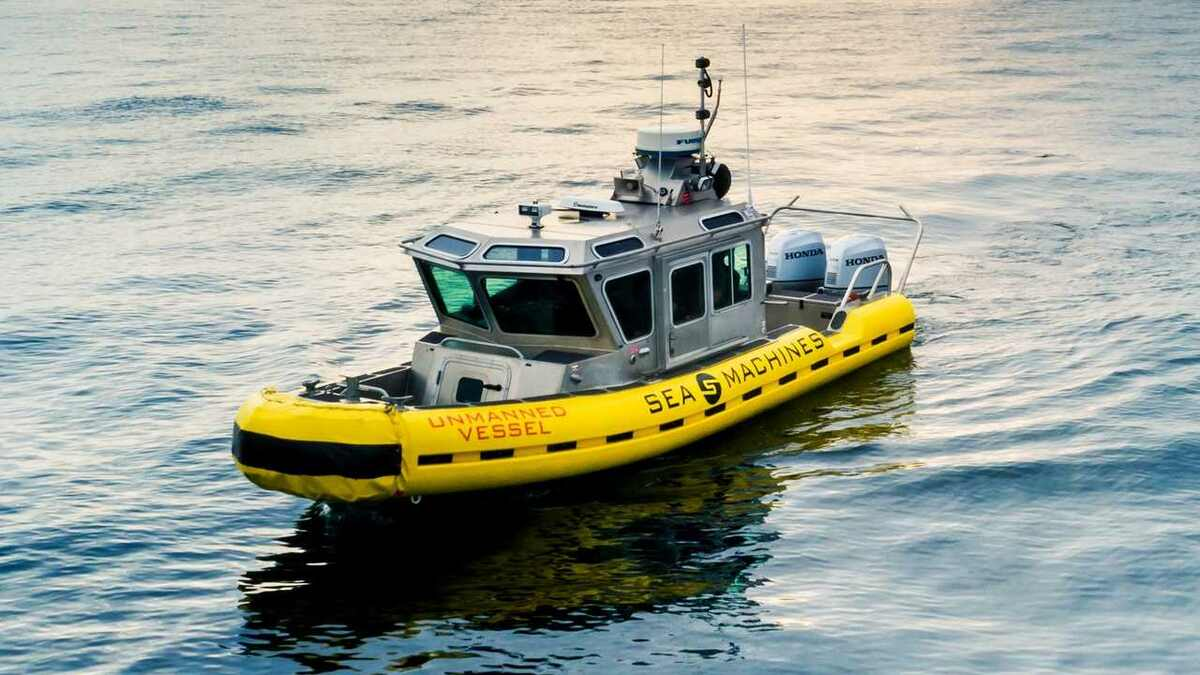 Sea Machines autonomous vessel (source: Sea Machines)