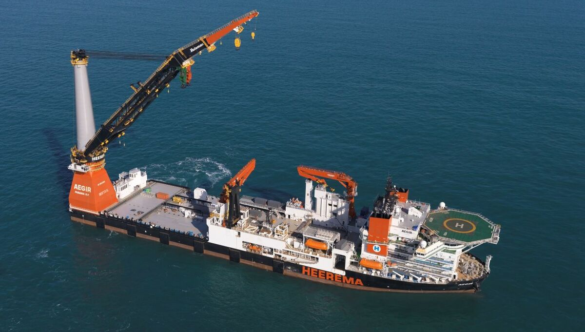 Dutch heavy lifter wins first offshore wind contract in Taiwan