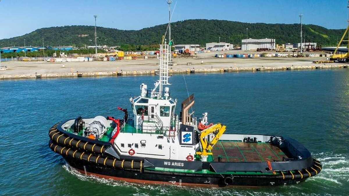 WS Aries escort tug enters service in Brazil
