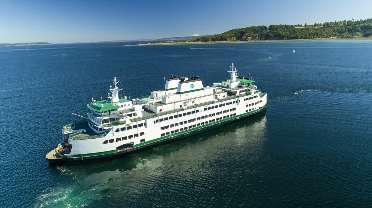Vigor built WSF's Olympic-class ferries as part of the ferry operator's efforts to 'green' its fleet