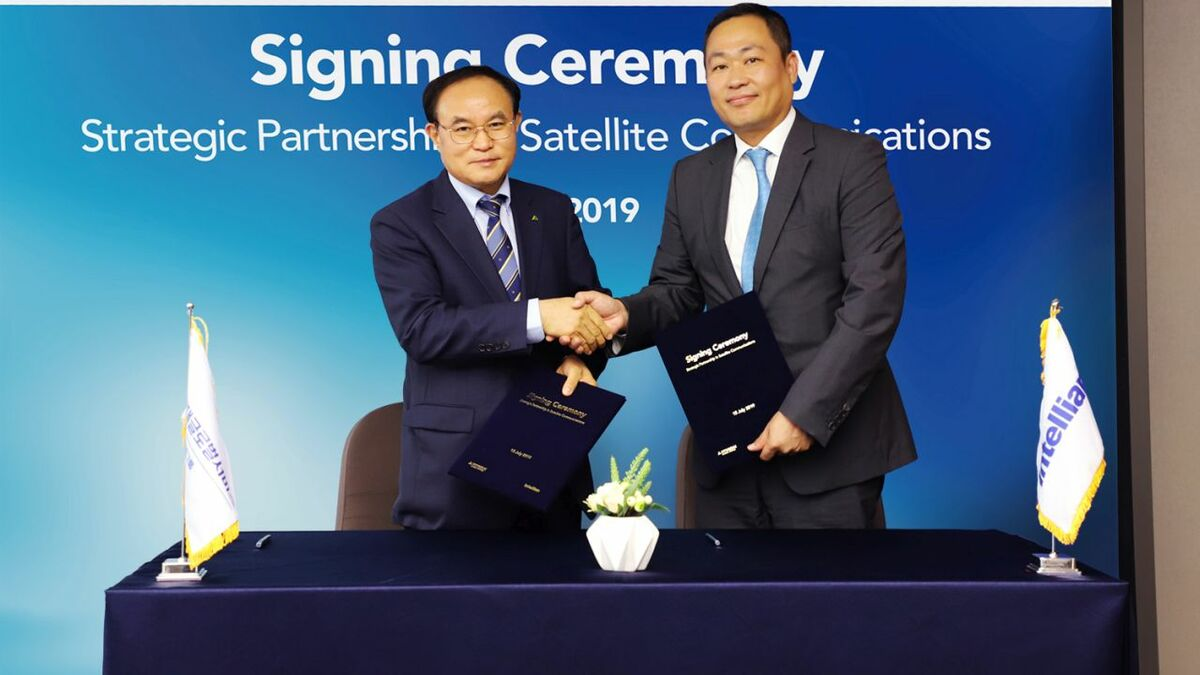 The strategic partnership is a significant step towards providing smart ship services