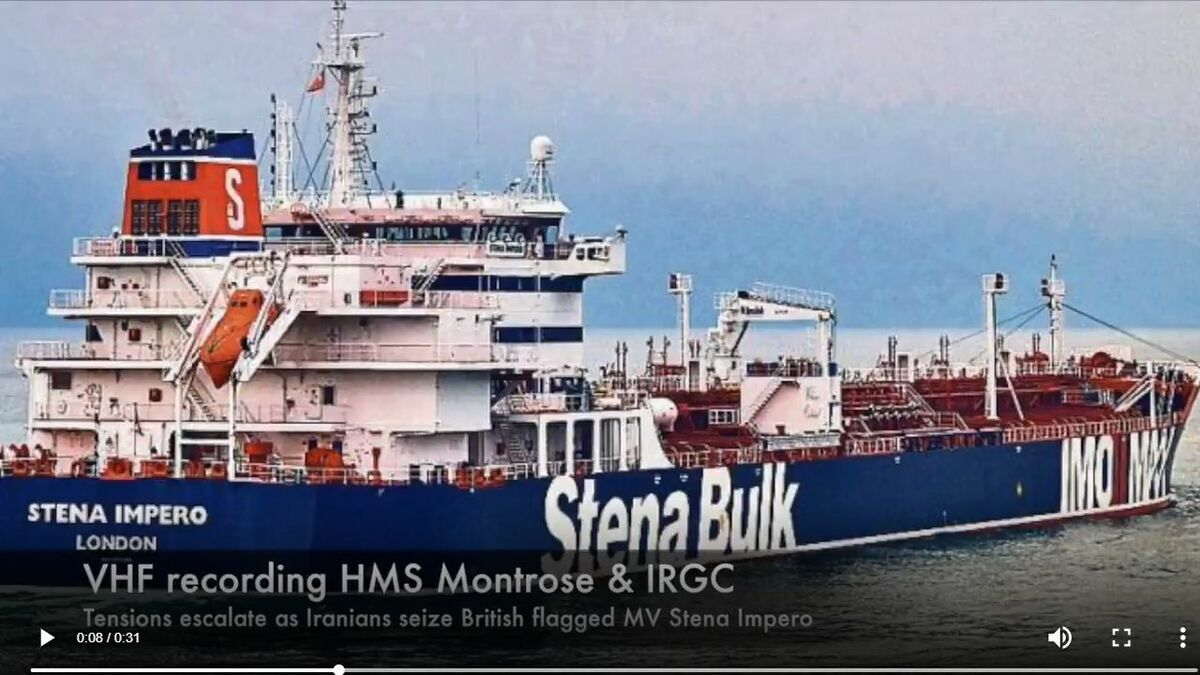 UPDATE: Iran seizes British-flagged Stena Impero
