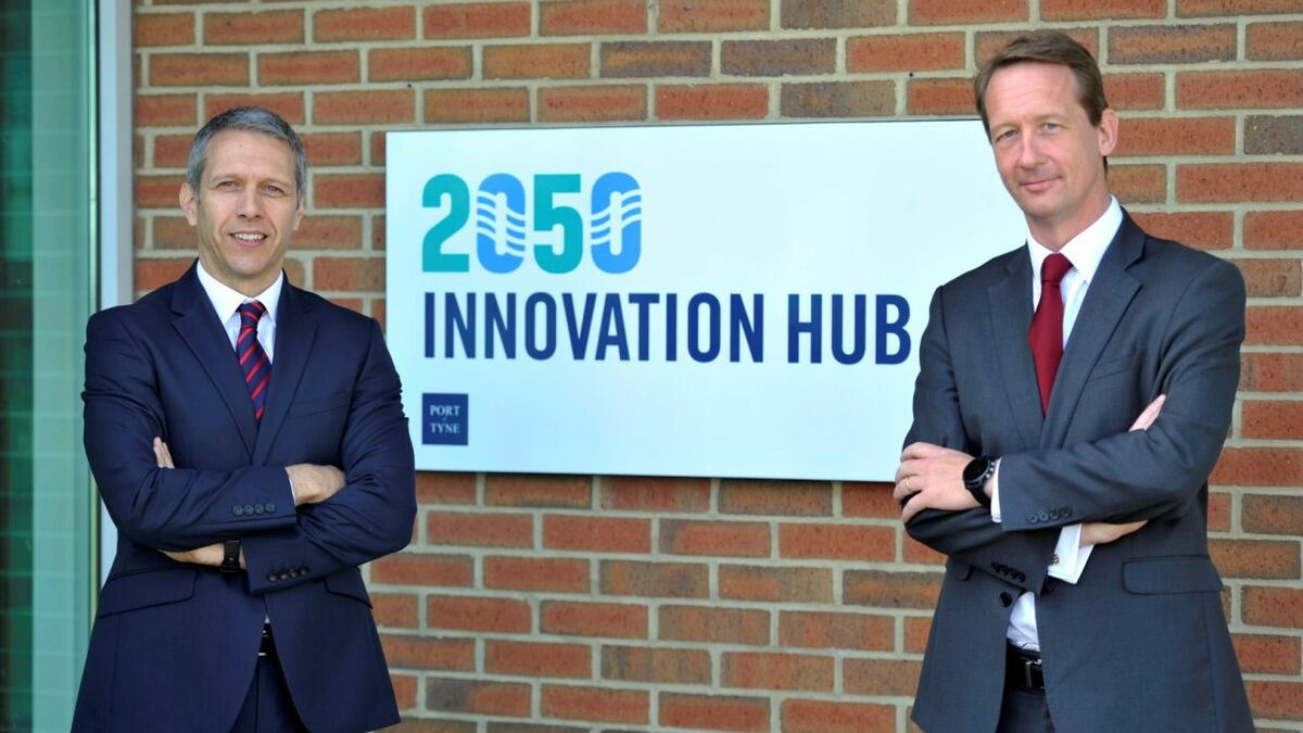 The Port of Tyne opened the UK's first Maritime Innovation Hub