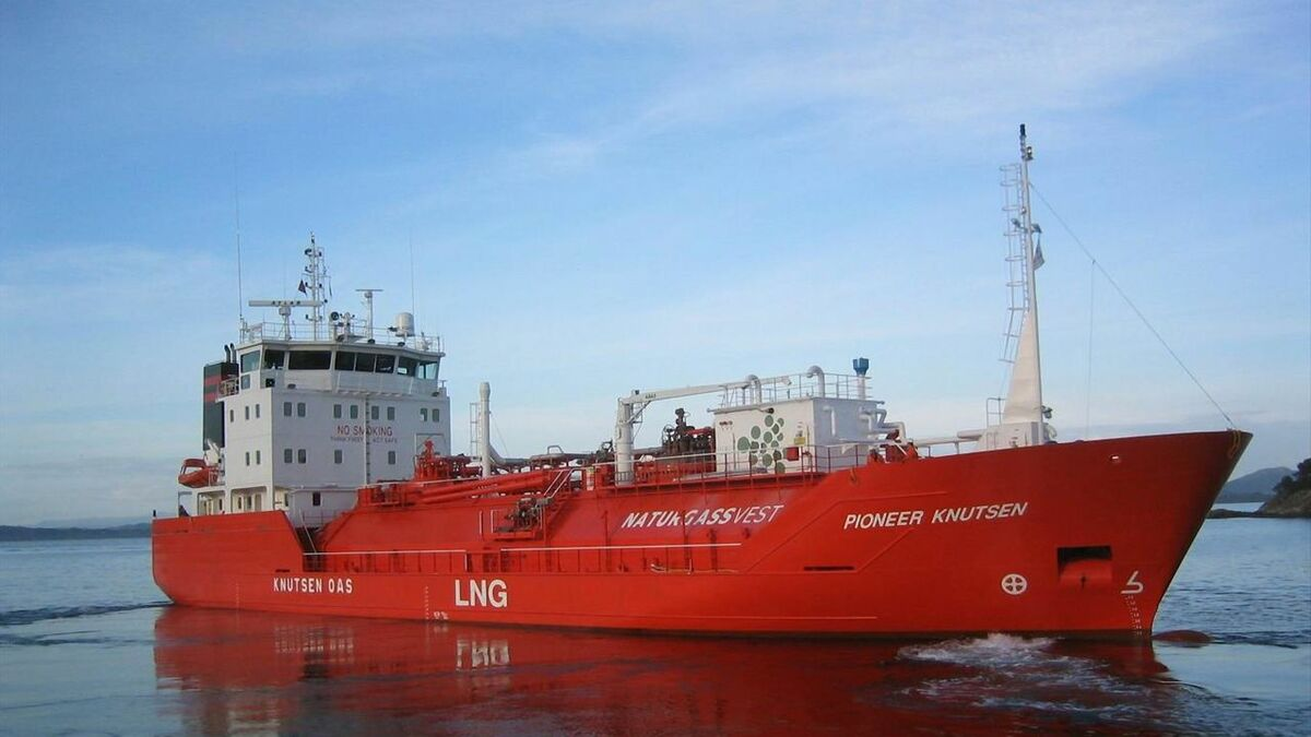 Knutsen Shipping has opted for an all-in-one fuel supply system from Wärtsilä for its LNG carrier