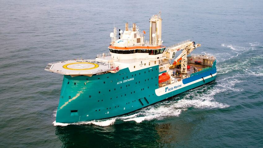 Changes to Acta Centaurus will make the vessel greener and more fuel efficient