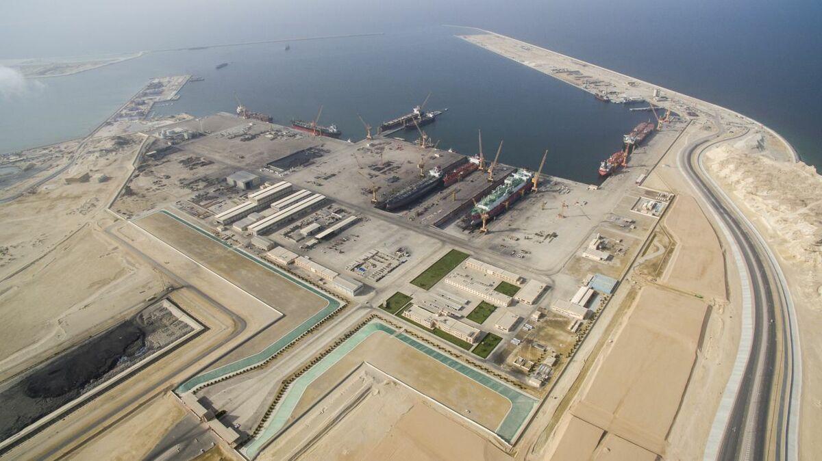 Oman Drydock Company enjoyed a 30% increase in repair work