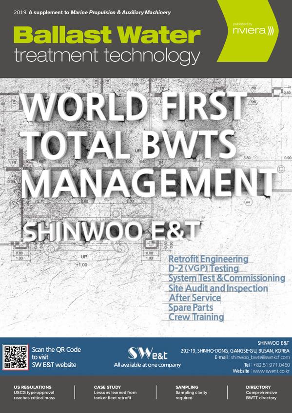 Ballast Water Treatment Technology 2019