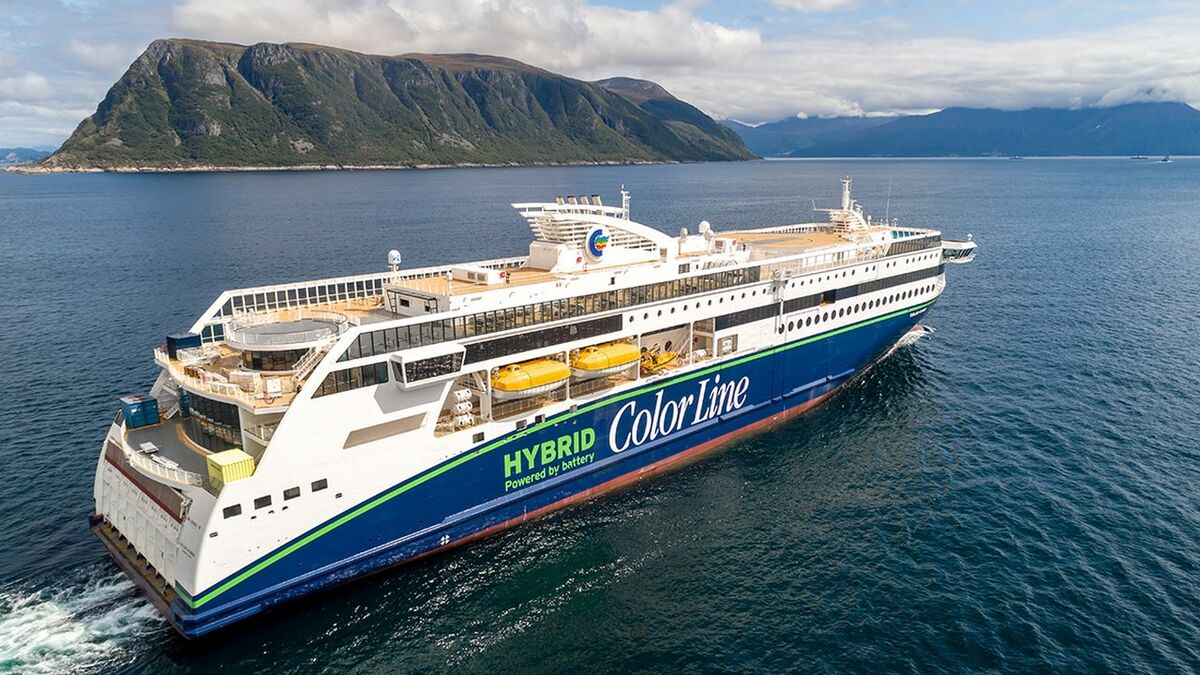 Color Hybrid: world's largest plug-in hybrid vessel