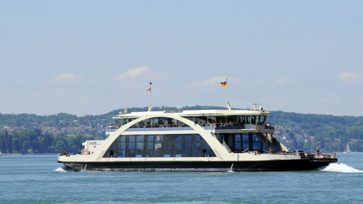 The Lake Constance ferry's municipal owners wanted a pure gas engine (image: Rolls-Royce)