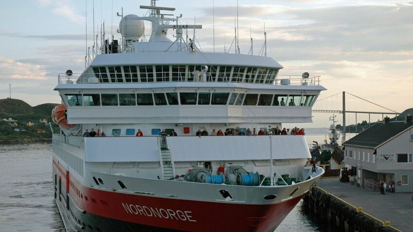 Hurtigruten's Nord Norge will be retro-fitted with LNG-fuelled engines