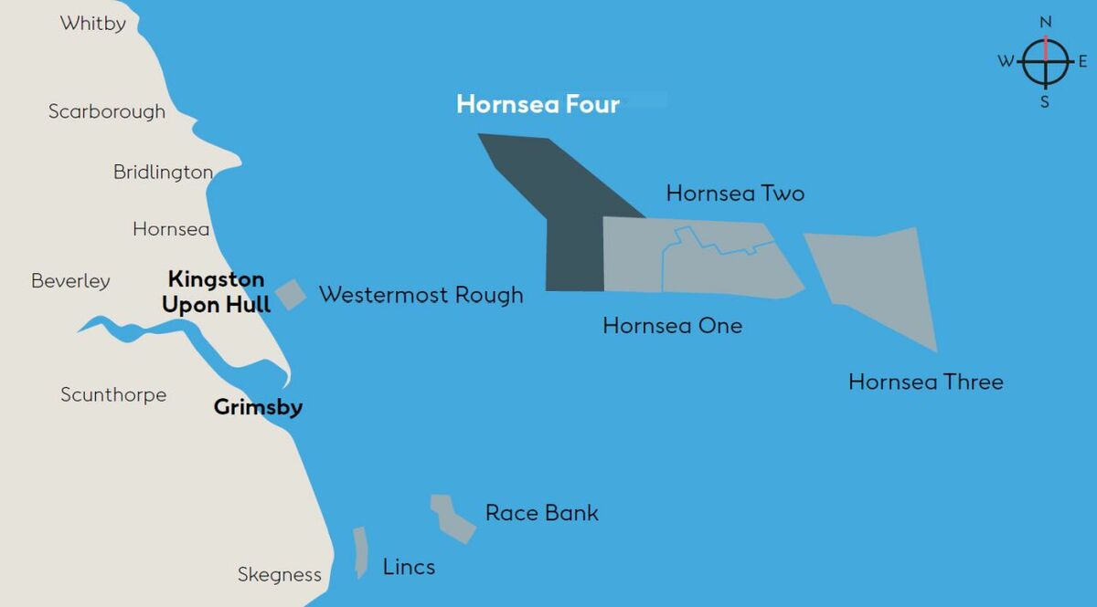 Ørsted opens consultation on plans for Hornsea Project Four