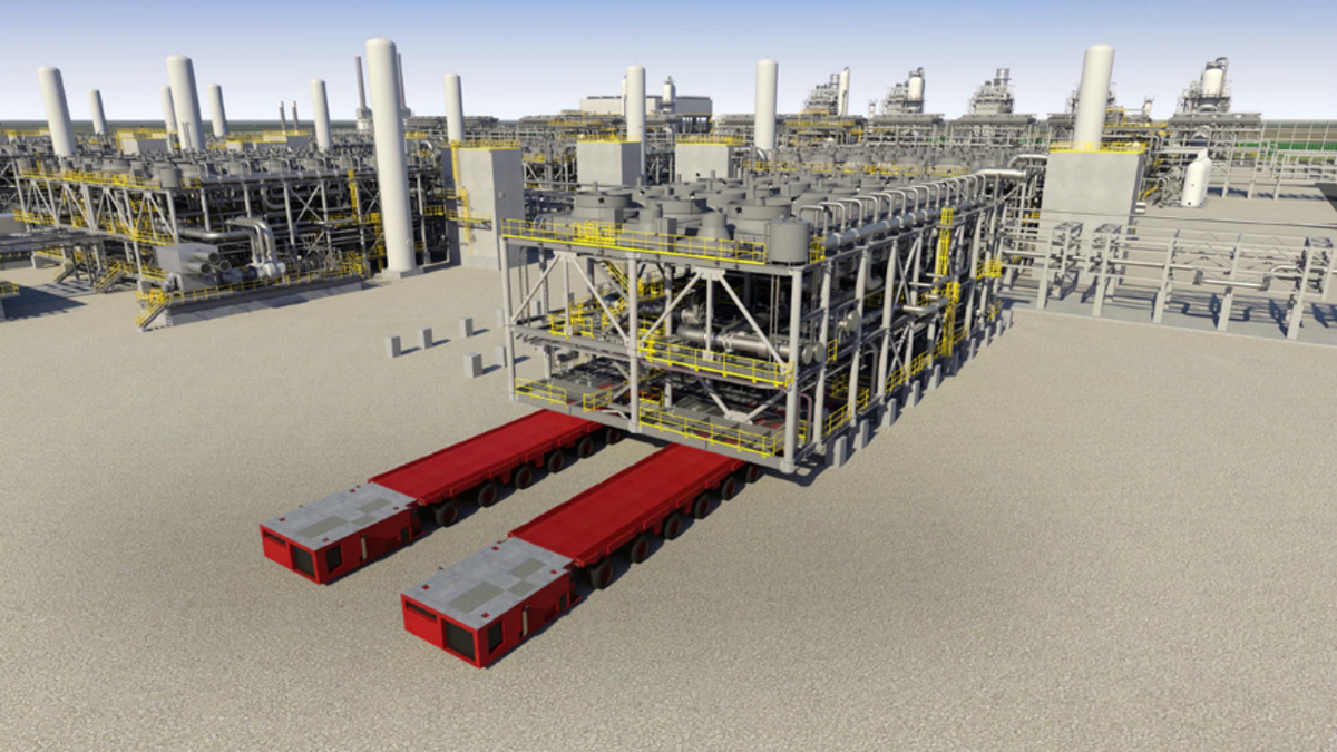 Environmental milestone for Louisiana LNG export project