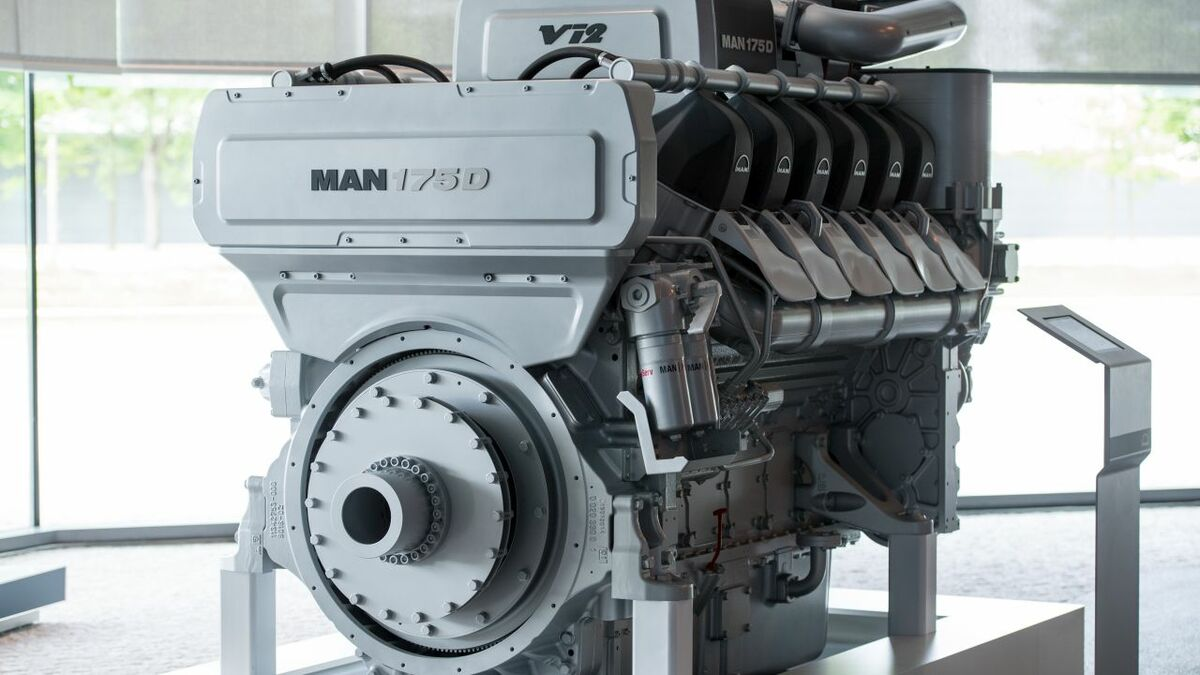 MAN Energy Solutions' low-pressure high-speed scrubber is an automotive-based solution