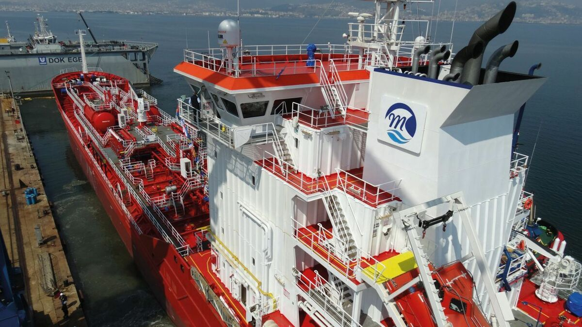Turkish yard launches a series of small chemical / product tankers