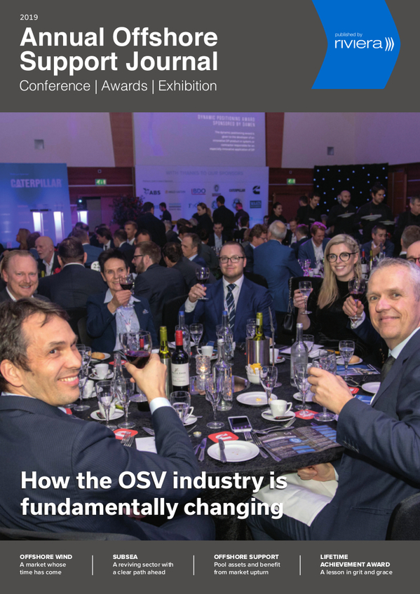 Annual Offshore Support Journal Conference, Awards & Exhibition Supplement 2019