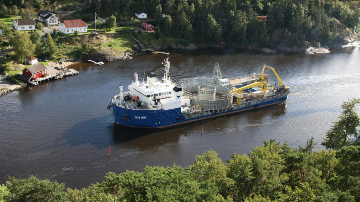 OSV owner confirms 'green credentials'