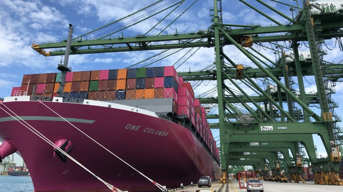 PSA Singapore and ONE inaugurated their 4M-TEU capacity Magenta Singapore terminal this year