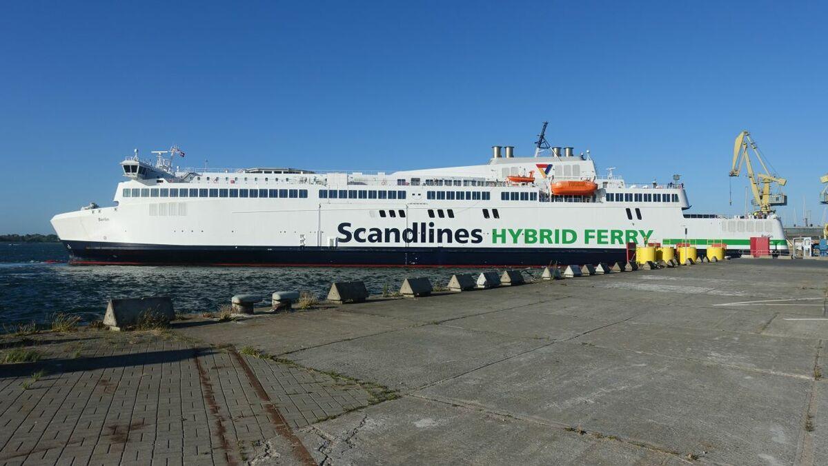 Scandlines is installing Norsepower's Rotor Sail (credit: Scandlines/Annemarie Zinck)