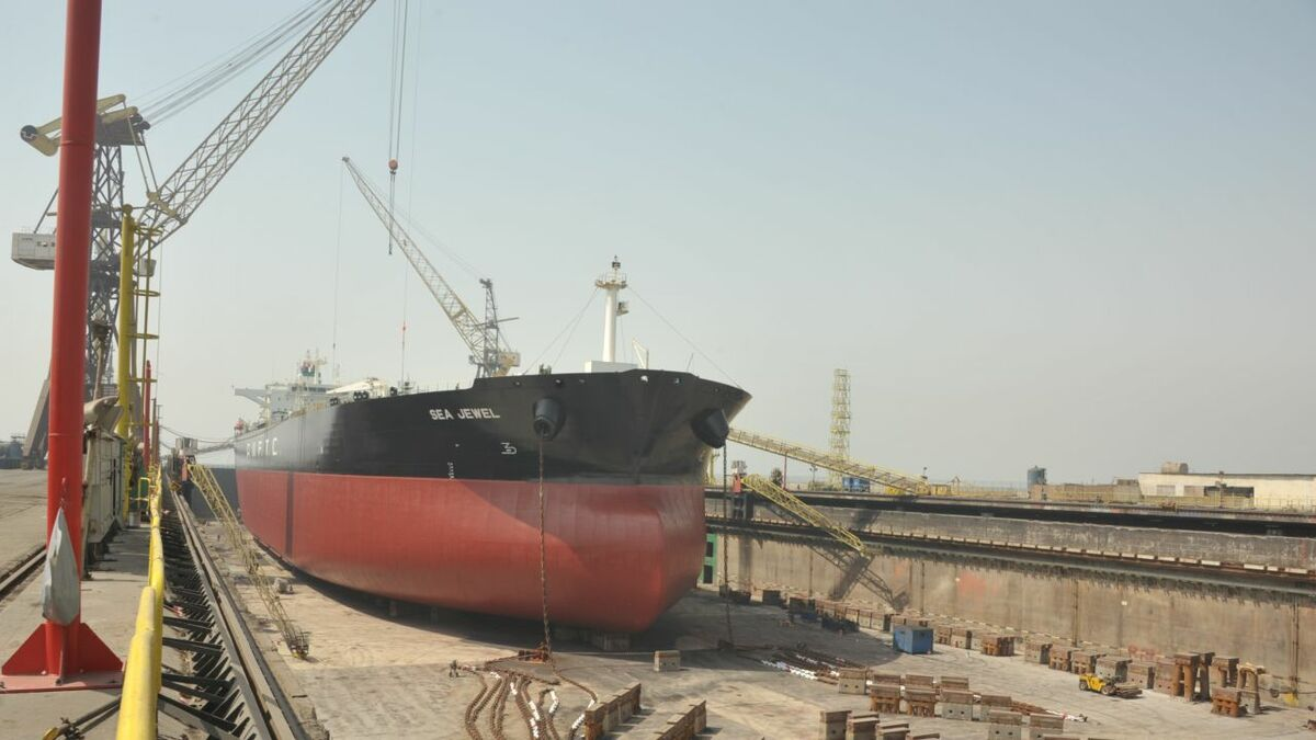 Tanker repair yards experience a flurry of retrofit activity