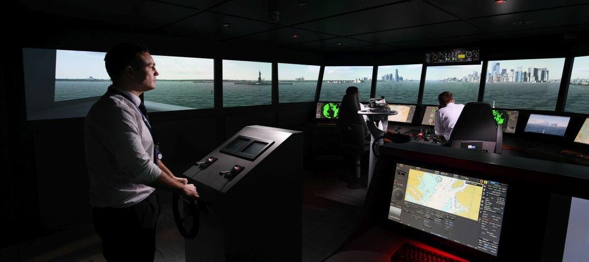 Wärtsilä supplied a main bridge simulator to Solent University, Southampton, UK