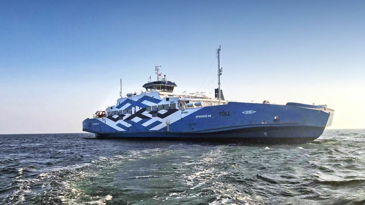 TS Laevad is converting its ferry Tõll into a battery hybrid (credit: TS Laevad)