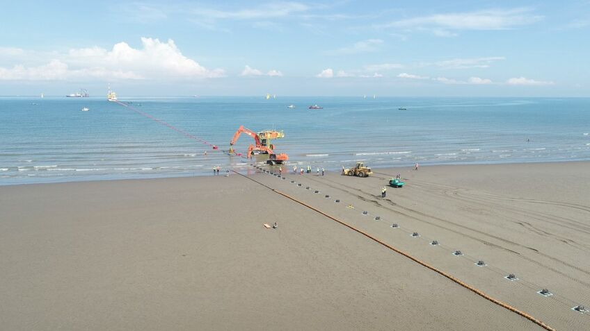 Cables from Formosa 1 Phase 2 have come ashore