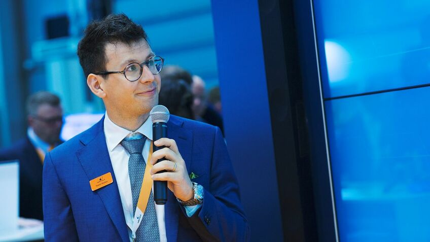 Matteo Natali (Wärtsilä): Creating two complimentary digital arenas, Smart Energy and Smart Marine
