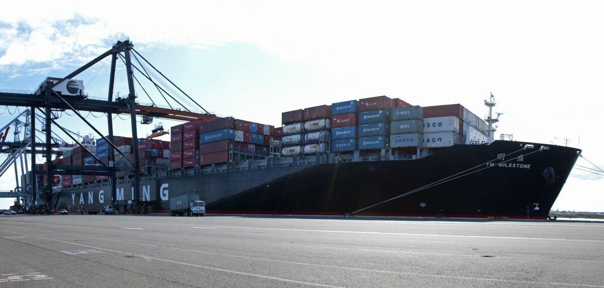 Yang Ming's fleet optimisation has helped reduce financial losses (credit: flickr/Jaxport)