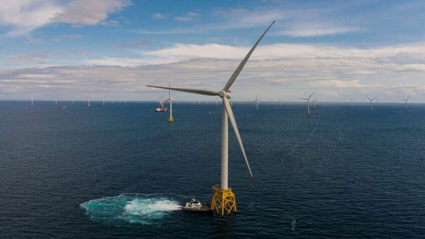 Beatrice offshore windfarm in Scotland is the fourth largest in the world