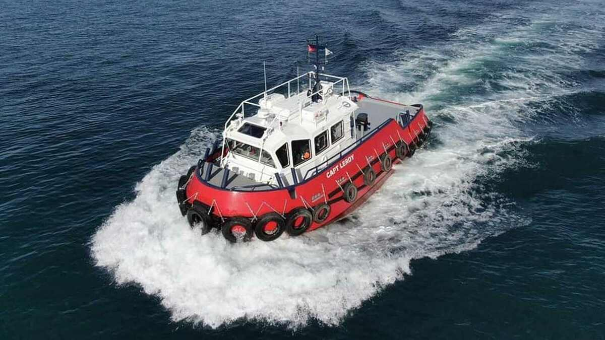 Capt Leroy line handler purchased by Kotug Seabulk for Bahamas operations
