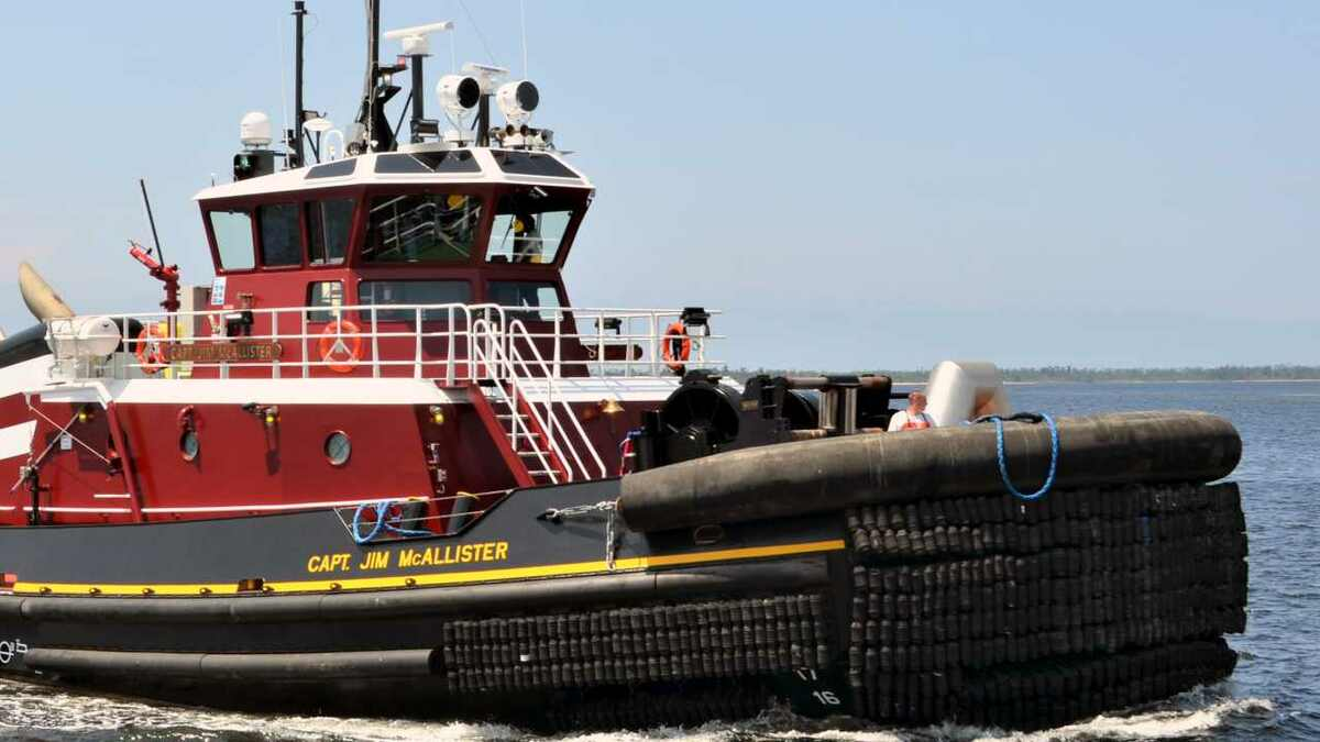 Capt Jim McAllister was delivered to McAllister Towing by Eastern on 16 August