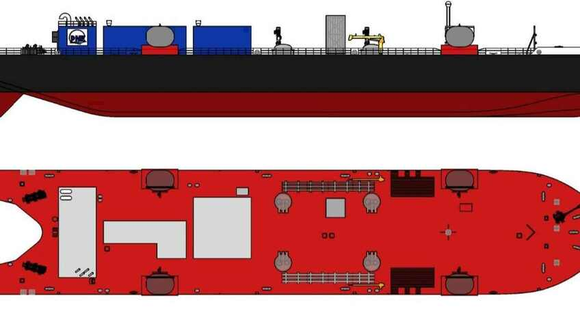New LNG ATB ordered for US east coast bunkering