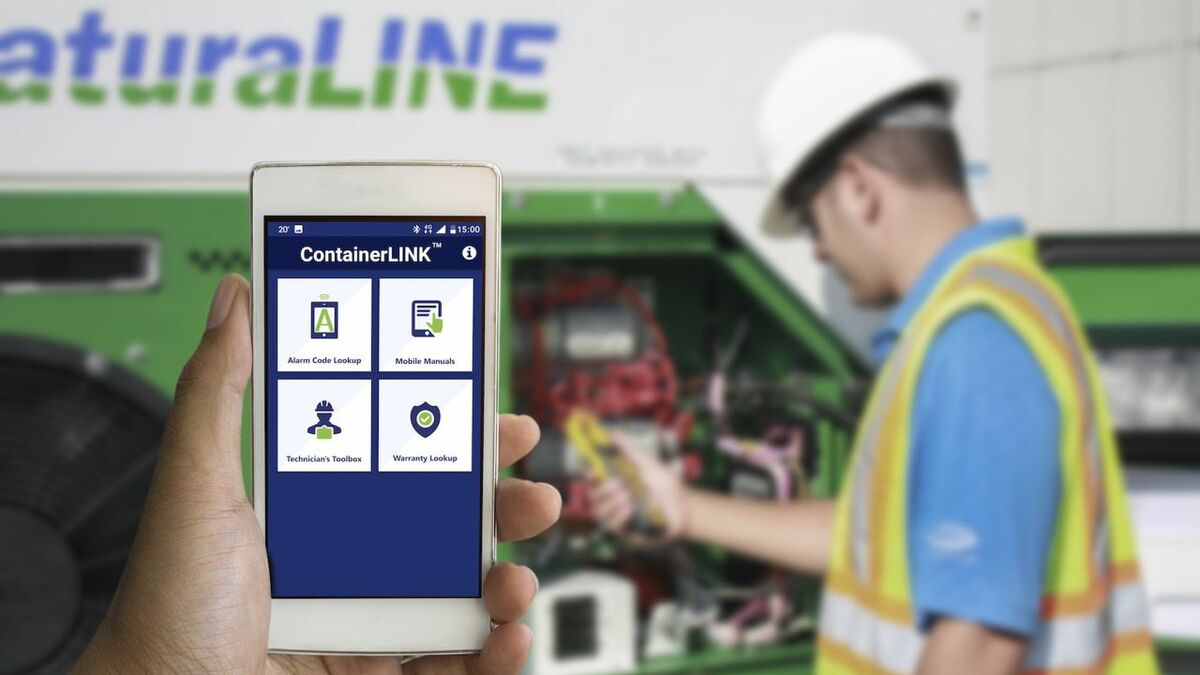 Carrier Transicold has developed its ContainerLINK application