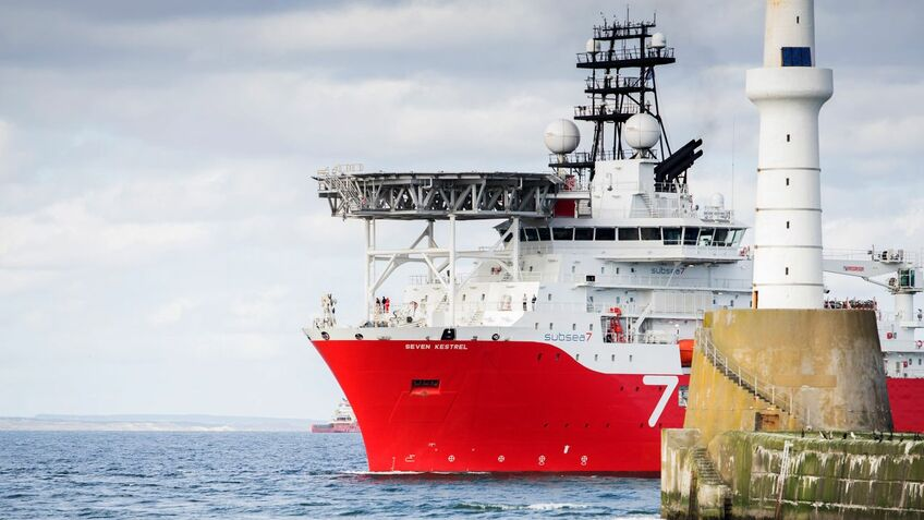 Subsea 7's dive support vessel Seven Kestrel was a testbed for a DP system verification project