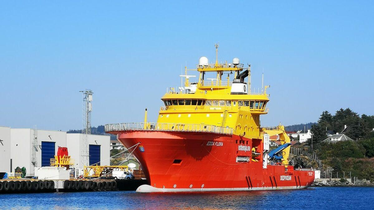 Ostensjo Rederi's Edda Flora is being retrofitted with hybrid propulsion