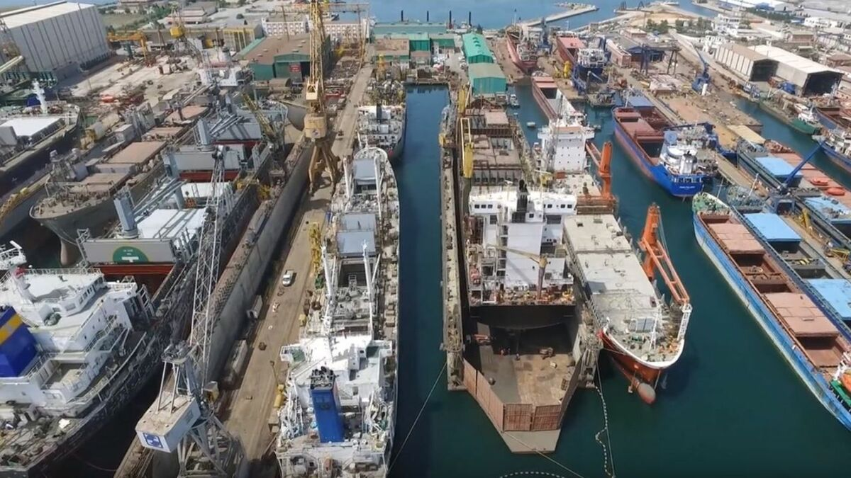 Gemak Shipyard in Turkey