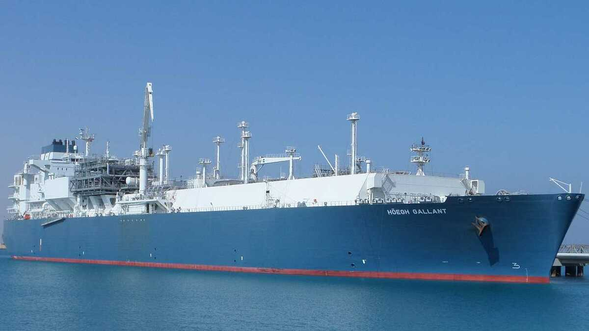 FSRU Höegh Gallant underwent its class renewal this quarter (credit: Höegh LNG)