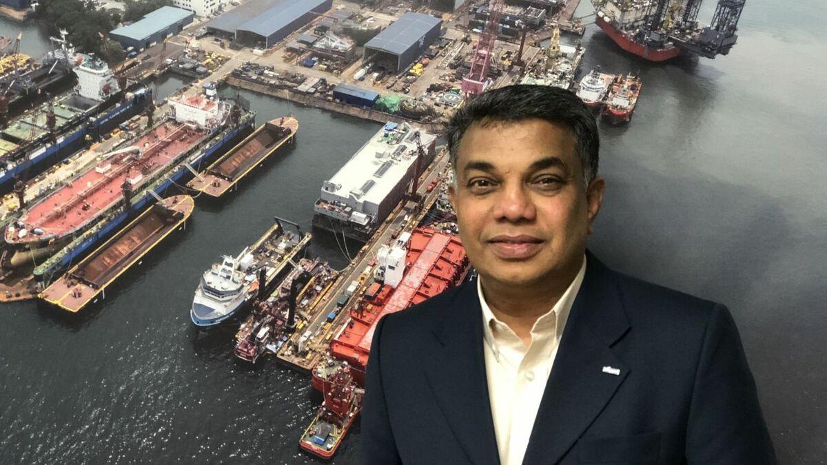 Industry leader - Jaya Kumar, Keppel Shipyard