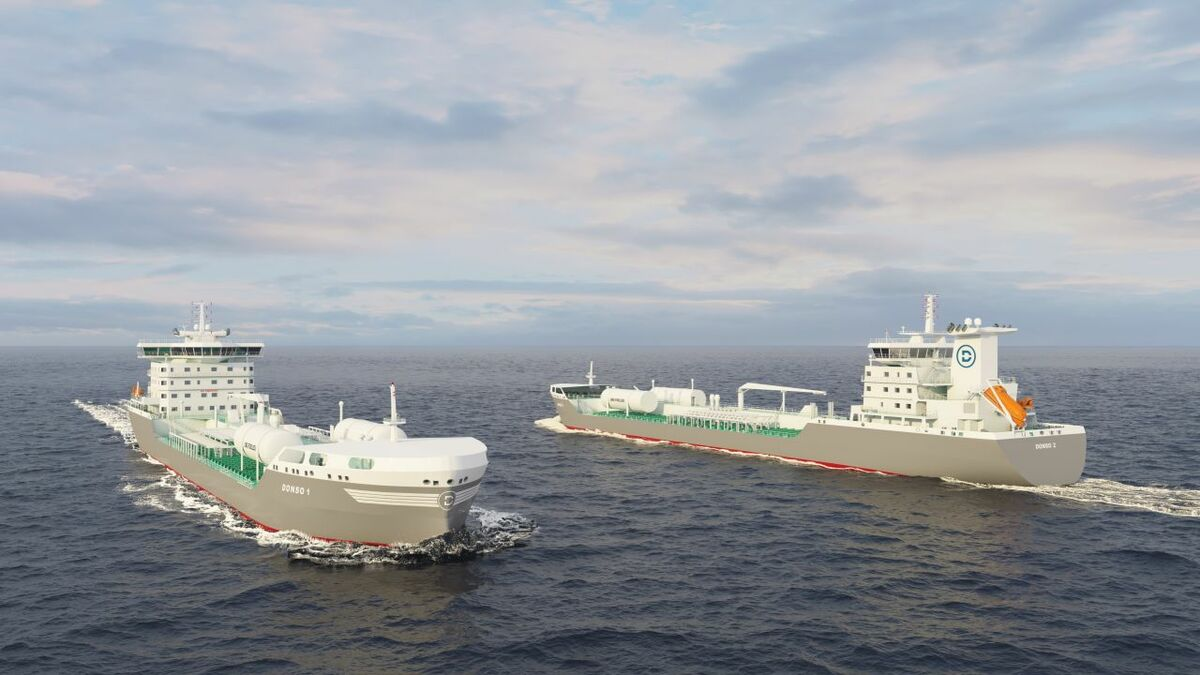 Donsö Shipping's oil products and chemical tanker newbuildings (Image credit: Donsö Shipping AB)