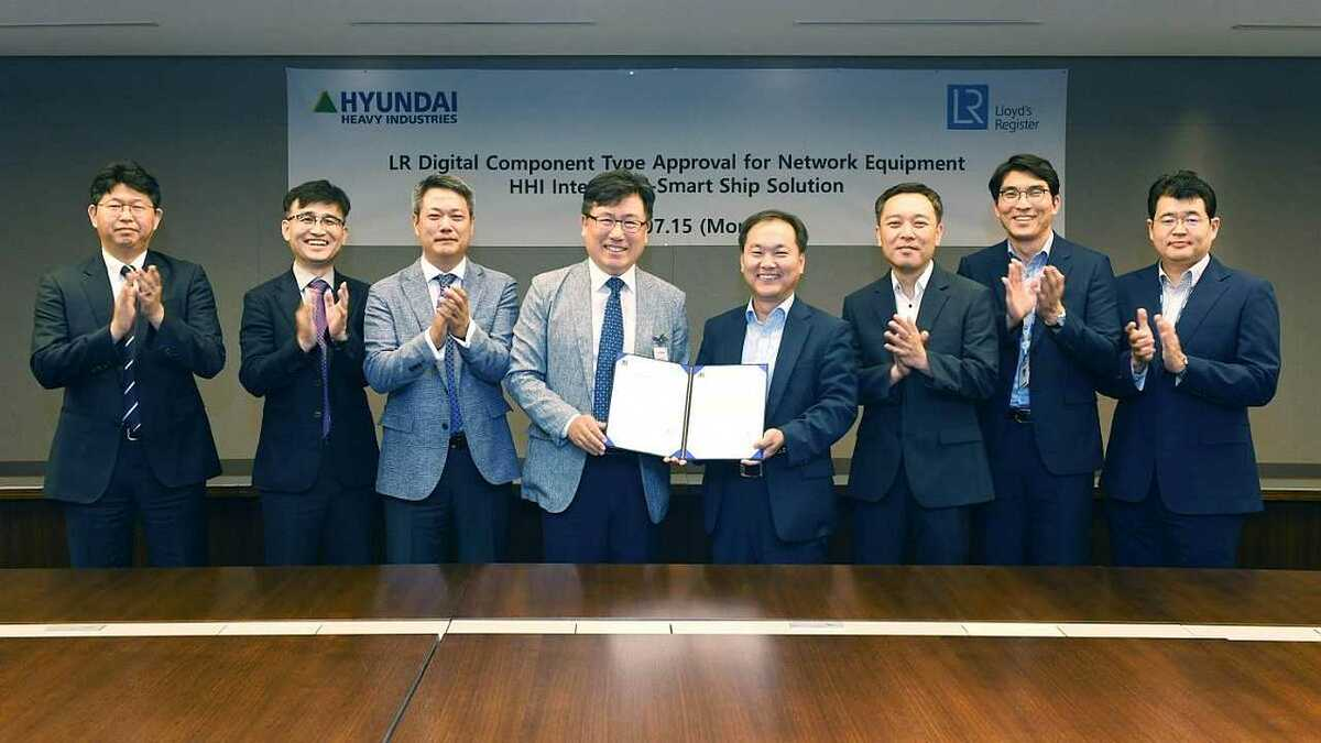 Hyundai Heavy Industries receives Smartship type-approval