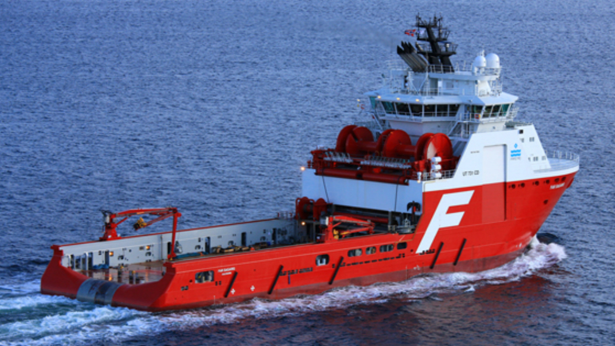 AHTS vessel Farstad Sagaris will serve as the lead-in vessel for the Total charter