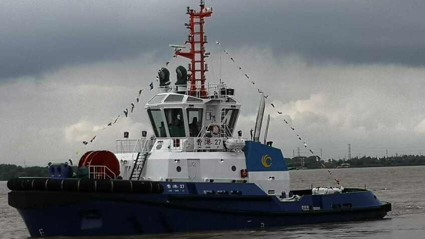 New Chinese tug boosts ice operations in key port
