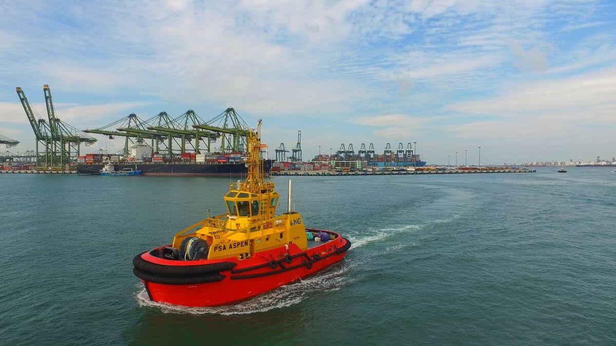 PSA Marine unveils evolutionary LNG-fuelled tug