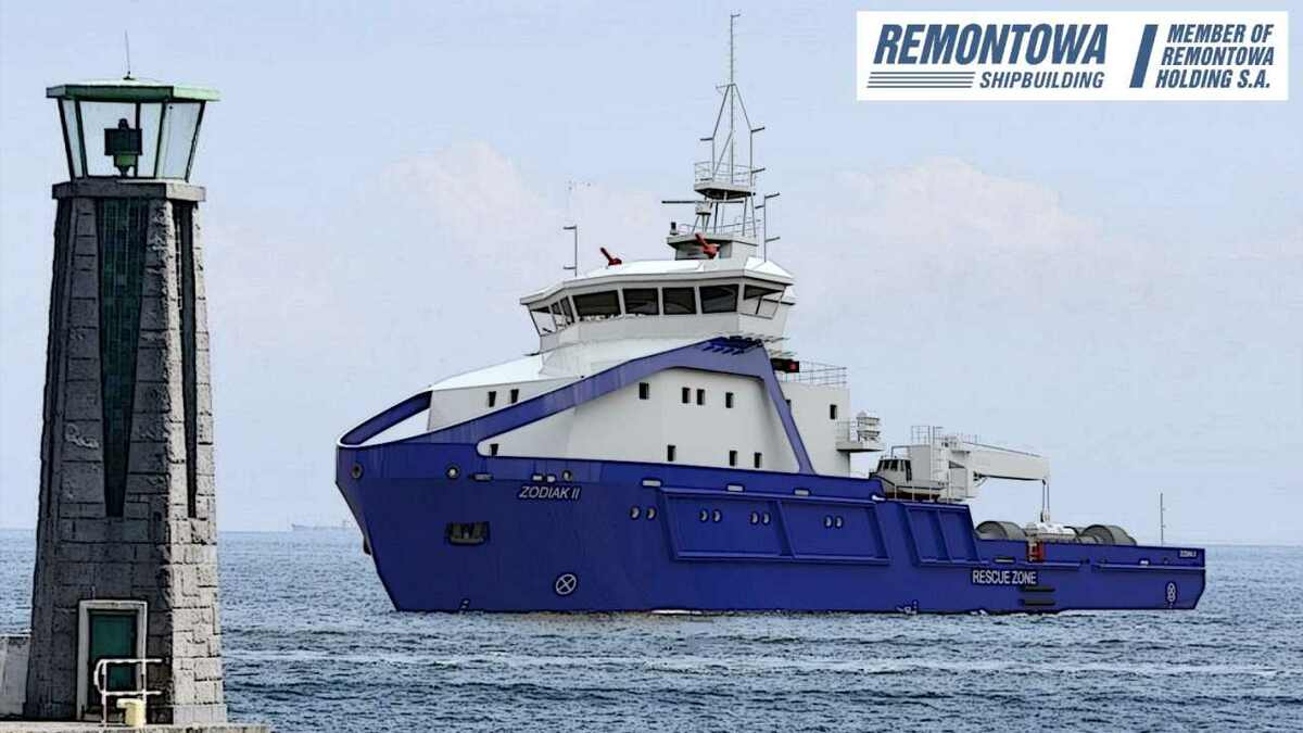 Remontowa is building two multipurpose towage ships for 2020 delivery