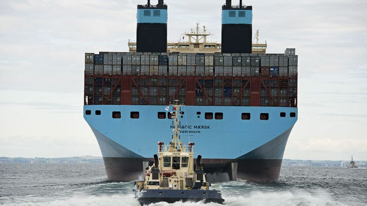 Maersk has boosted its 2019 outlook on the back of freight rates, volumes and bunker fuel