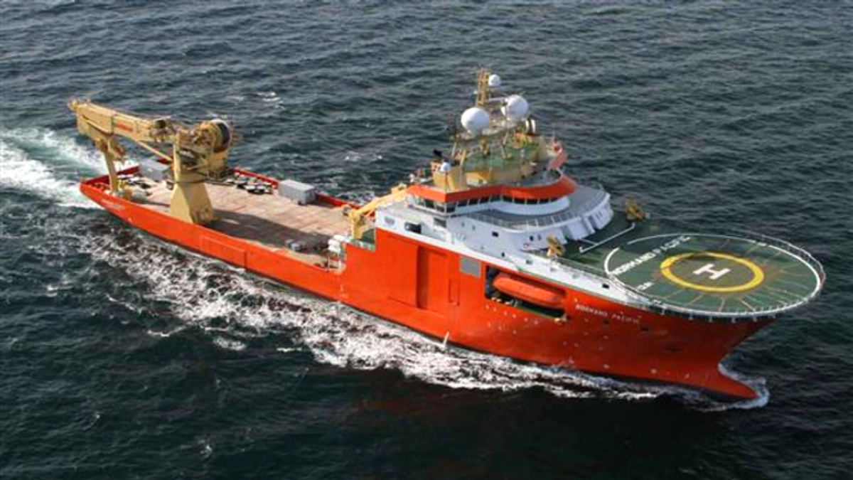 Solstad's CSV Normand Pacific can support ROV, subsea, survey and crane operations