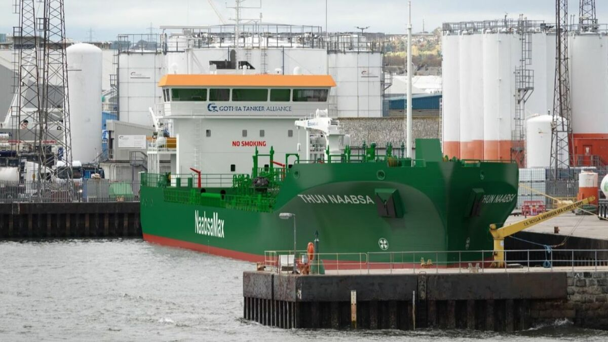 Thun Tankers has placed an order for a Not Always Afloat but Safely Aground product tanker